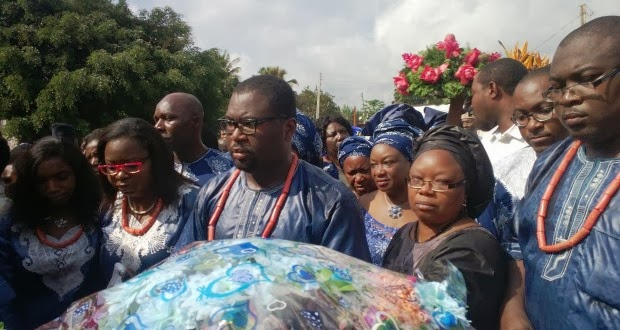 festus iyayi buried