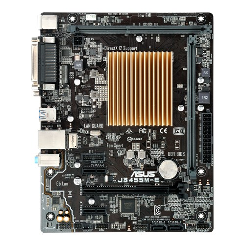 Apollo Lake motherboard from Asus