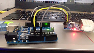 Arduino, Ethernet Cara Mengirim Data ke Database MySQL