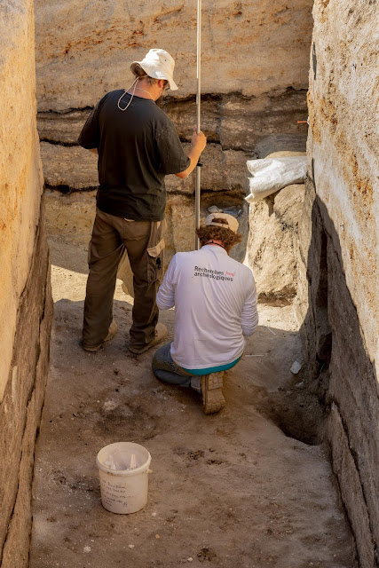 Late Palaeolithic site unearthed in southwestern France