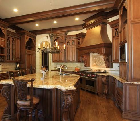 Meble do kuchni: Drewniane meble do kuchni