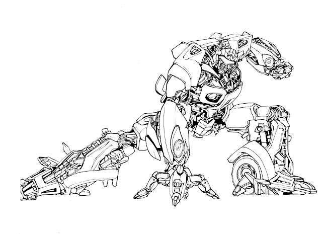 PORTAFOLIUM: TRANSFORMERS (Ilustraciones de Autobots)