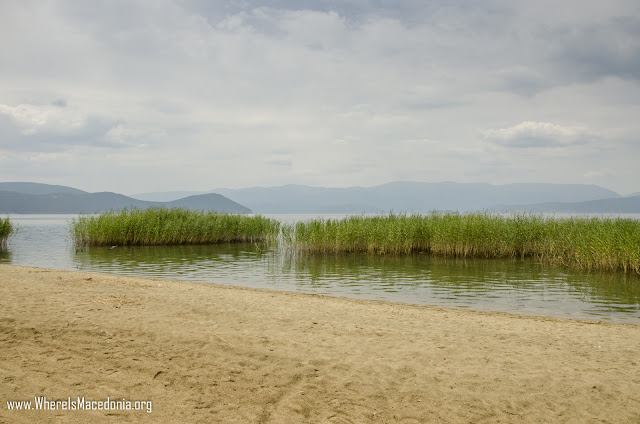 0821 dolno dupeni beach - Dupeni Beach, Prespa Lake