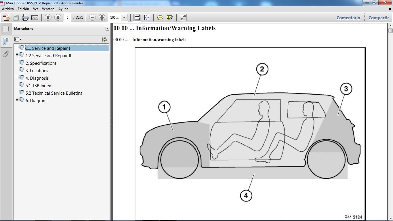 mini cooper manual de usuario 2006