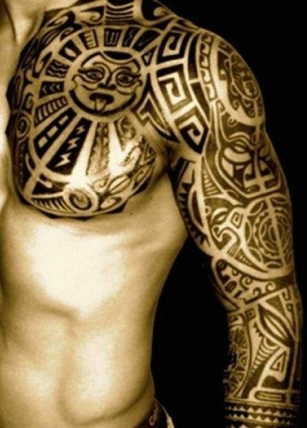 Tatuajes Manga Hombre ▷▷ +1200 tatuajes para hombres 【2018】【fotos】