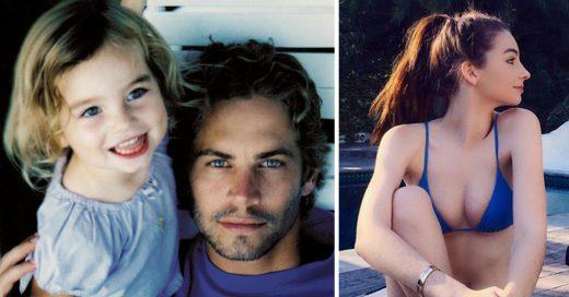 Asi se ve la hija de Paul Walker de Rápido y Furioso