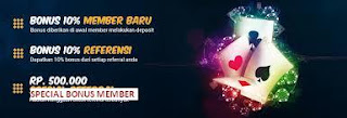 Pokermidas303 agen Domino 99 online terpercaya memberikan bonus 500rb untuk member yang deposit 100rb