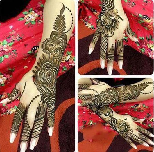 Arabic Mehndi Designs collection