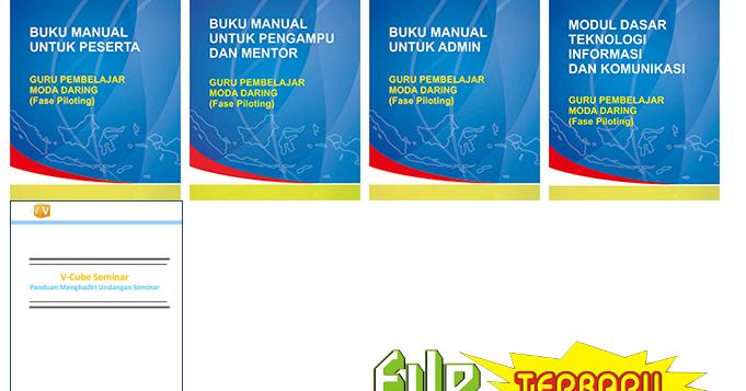 Download Buku Manual Guru Pembelajar Moda Daring File Terbaru