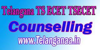 Telangana TS ECET Counselling TSECET 2017 Counselling