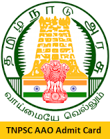 TNPSC AAO Admit Card