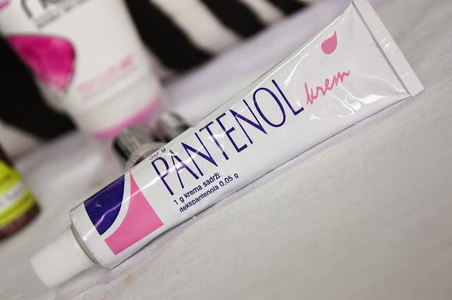 Slikovni rezultat za Kako se koristi PANTENOL KREMA za njegu lica (protiv bora,akni,fleka,mitesera i ožilljaka)