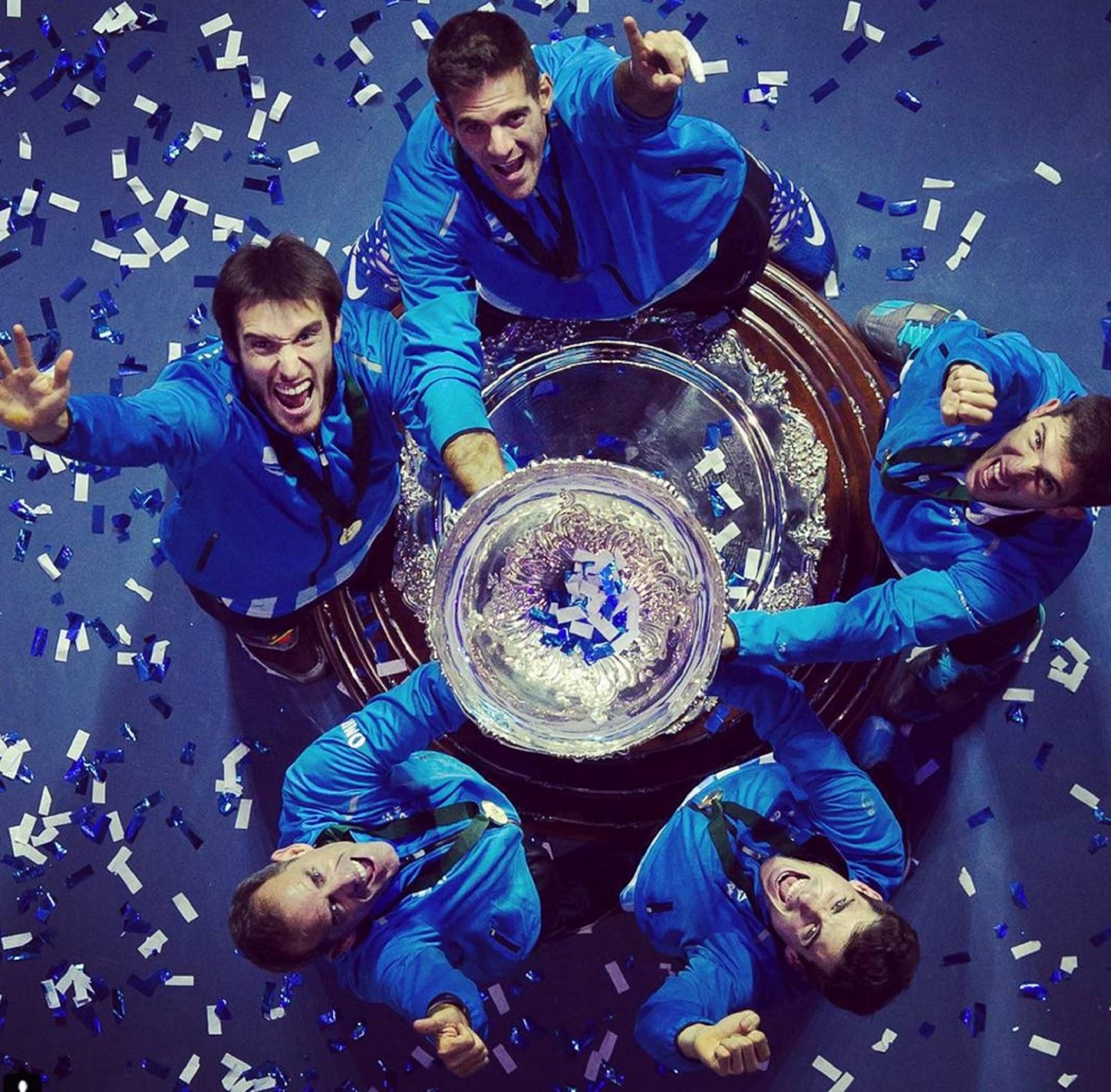 ARGENTINA DAVIS CUP CHAMPIONS 8