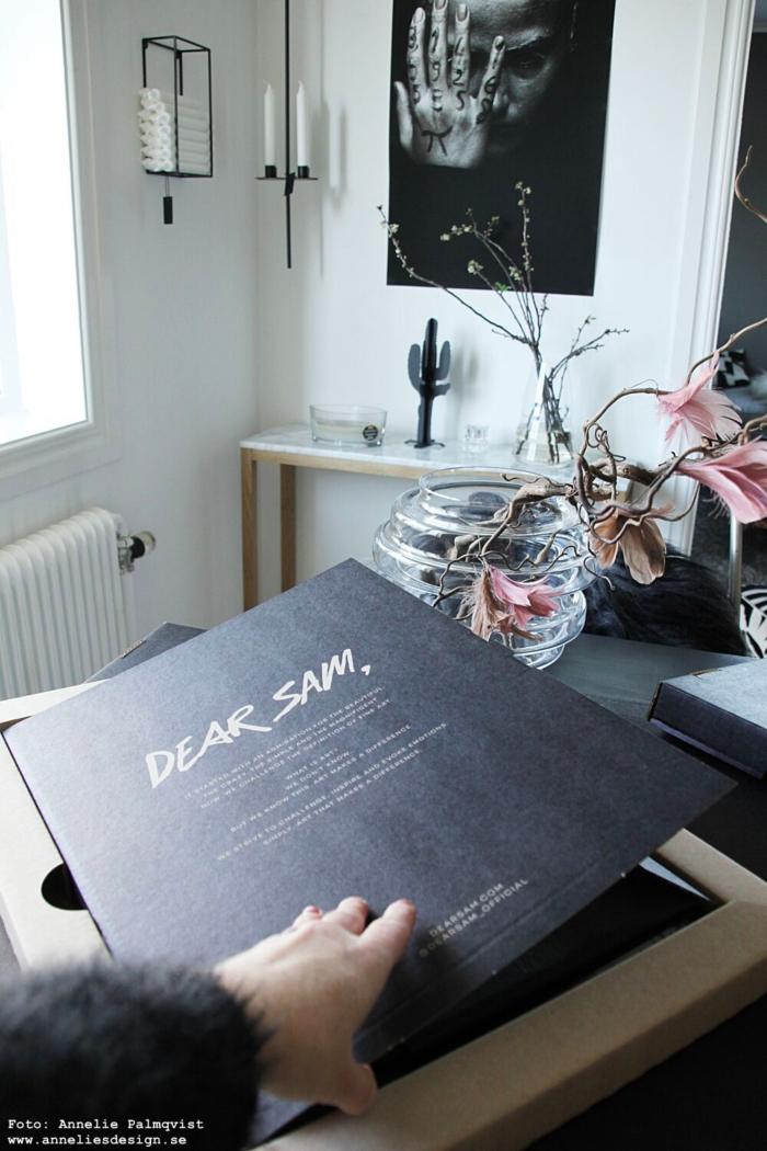 annelies design, webbutik, ljusförvaring, dear sam, poster, posters, tavla, tavlor,
