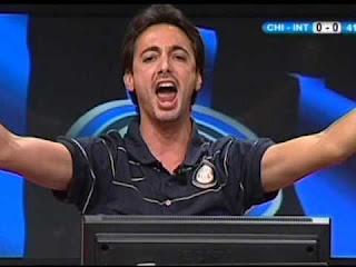 Serie A Inter Genoa 2-0 cronaca Filippo Tramontana video telecronisti tifosi