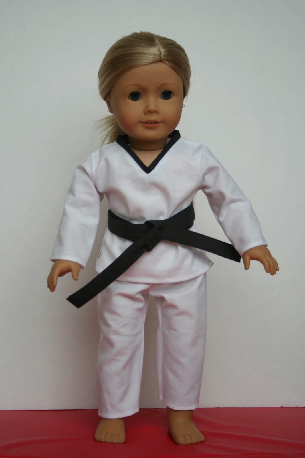 Arts and Crafts for your American Girl Doll: Taekwondo for ...