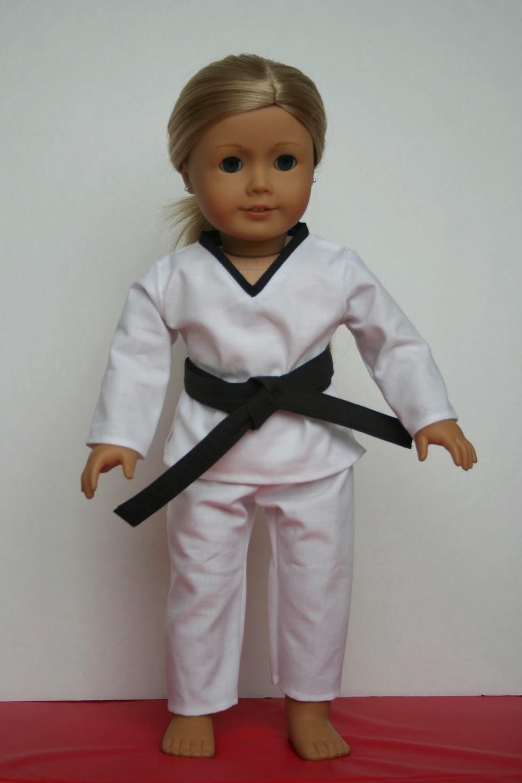 Arts Crafts Your American Girl Doll Taekwondo