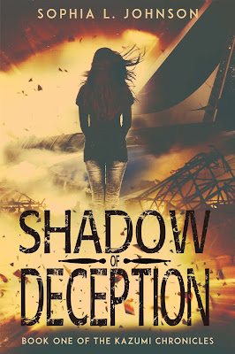 Shadow of Deception by Sophia L Johnson book cover
