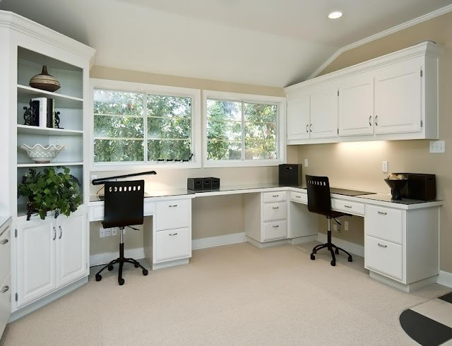 best custom wood white cabinets office furniture modern for home