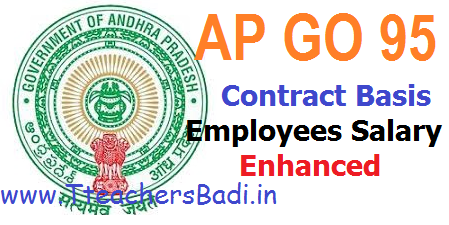AP Contract Employees Remuniration/ Salaries Enhanced GO 95