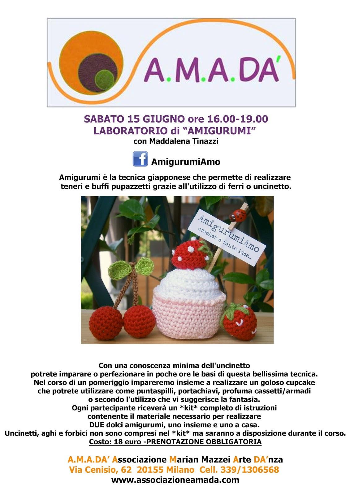 Corso Amigurumi A Milano Amigurumiamo