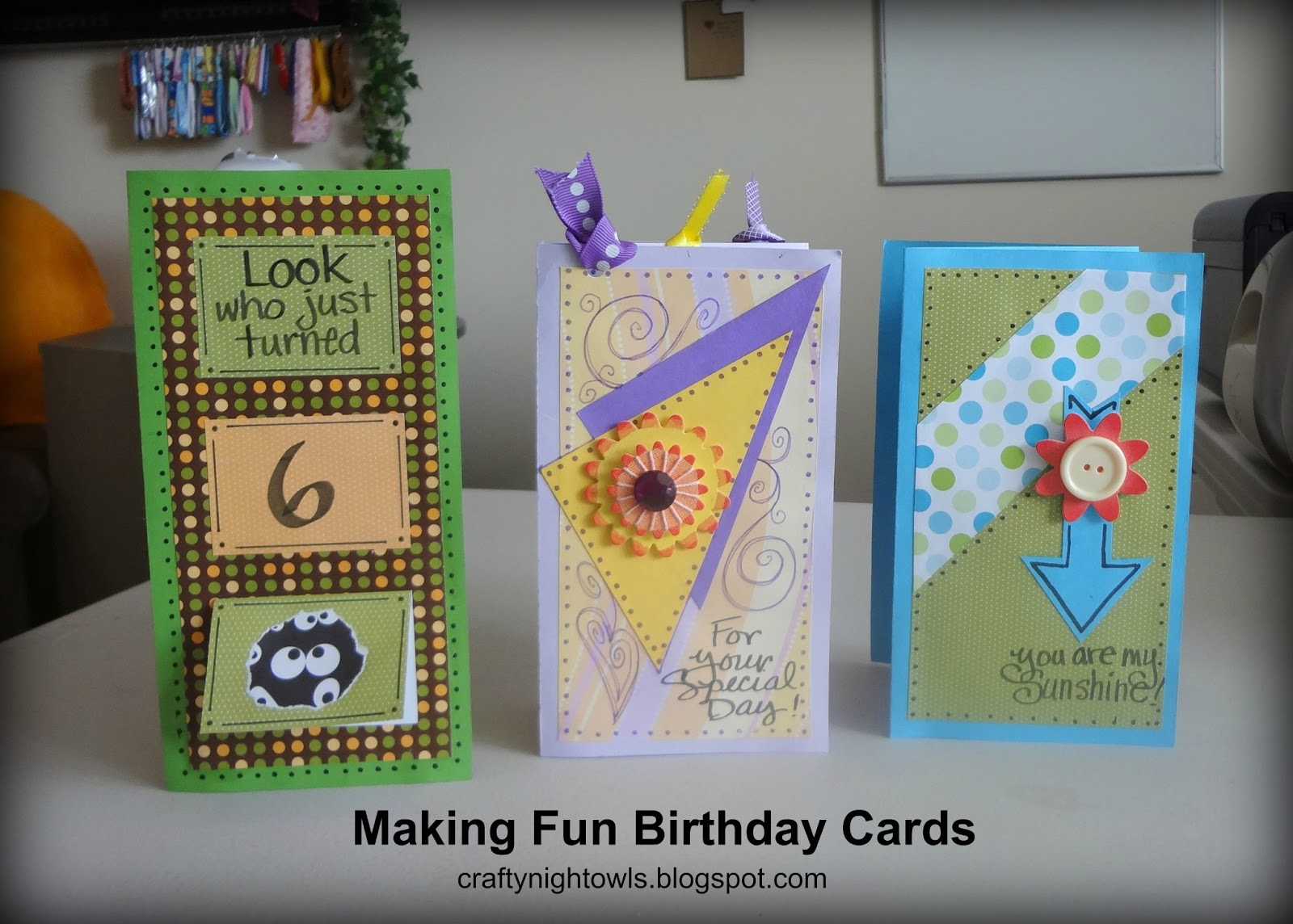 I Recently Made Birthday Cards For Three Of My Grandchildren They Are Always Thrilled When Make One Personalizing It With Their Name On