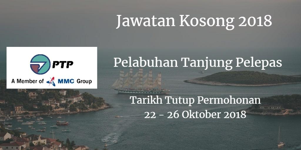 Jawatan Kosong PTP 22 - 26 Oktober 2018