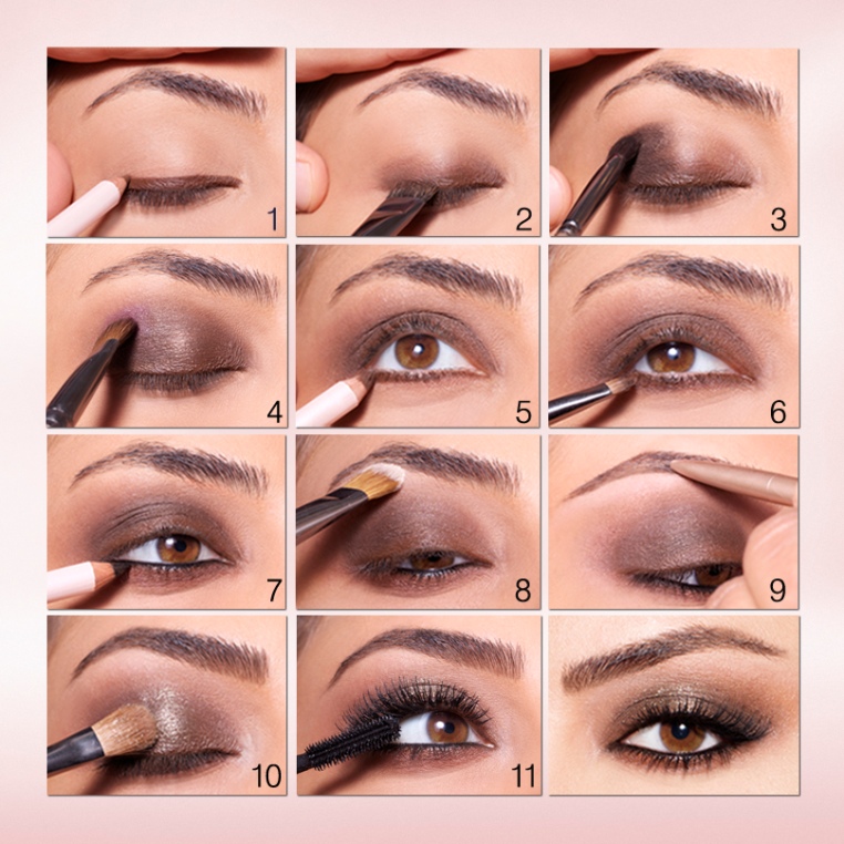 How To Draw Eyes Makeup