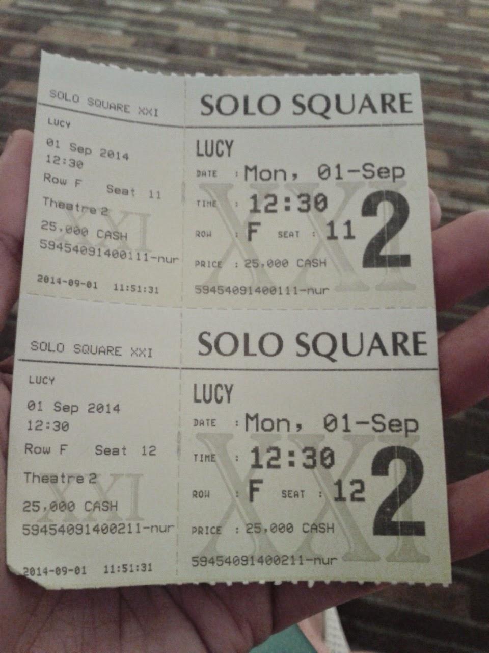 Pertama Kali Nonton Bioskop Di Xxi Solo Square Itu