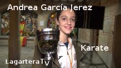 Campeona Karate Cadete Femenino España 2015 - LagarteraTv