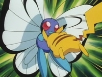 Pikachu vs Butterfree