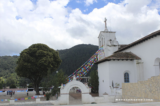 Zinacantan's church, Chiapas