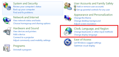 Cara Mengaktifkan Tulisan atau Font Arabic Di Windows 7