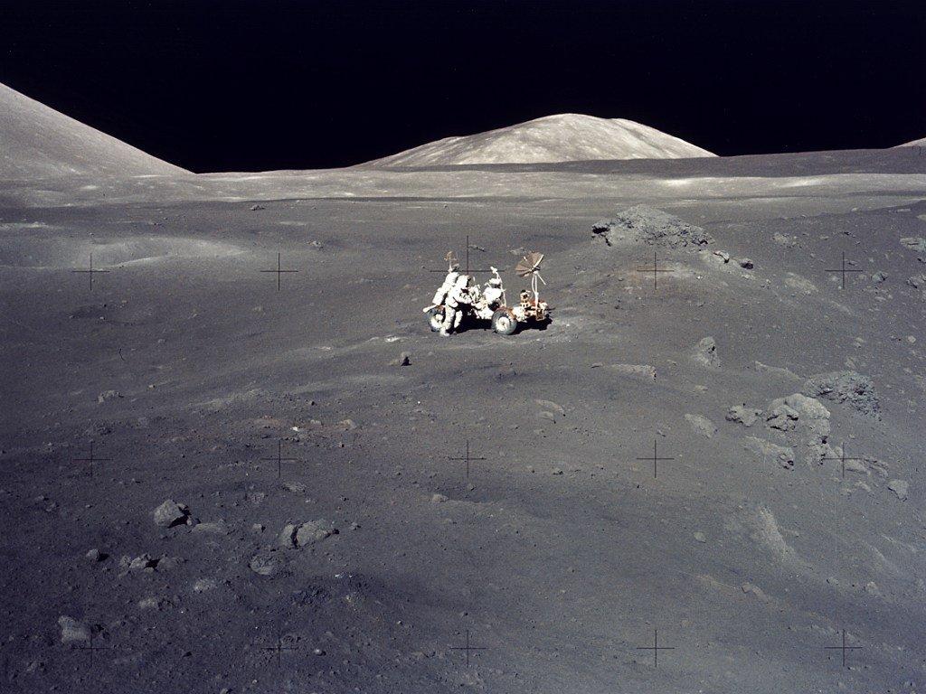 My Wallpapers Corner: Lunar Landscape Wallpaper