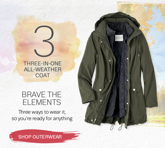 Coldwater Creek Womens Coats