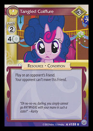 My Little Pony Tangled Coiffure Premiere CCG Card