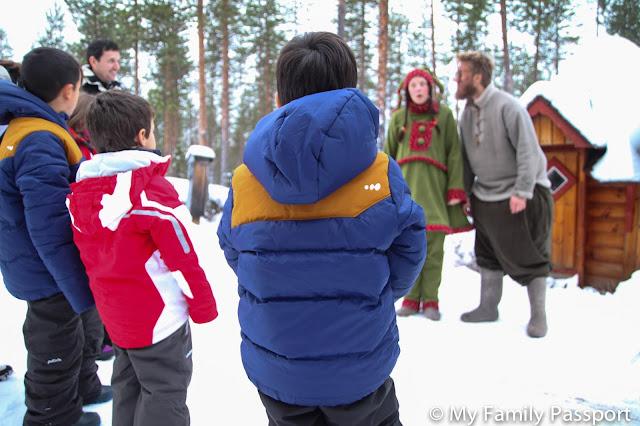 Laponia con niños