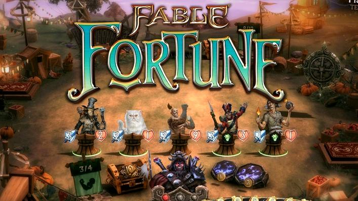 Yay! Fable Fortune is available now on Steam, Xbox One and Windows PCs