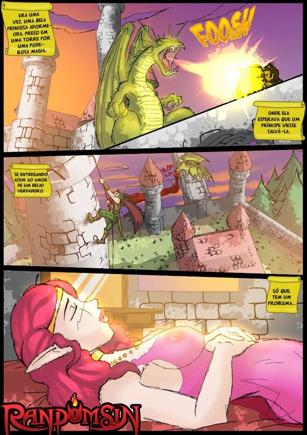 Hentai princesa adormecida