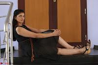 Khanishka new telugu actress in Black Dress Spicy Pics 12.JPG