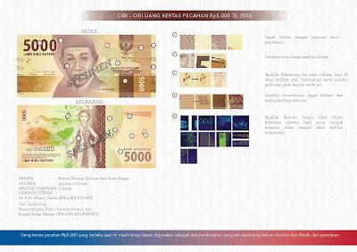 uang baru NKRI Rp5000