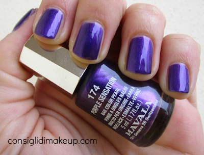 NOTD: 174 Purple Sensation - Mavala