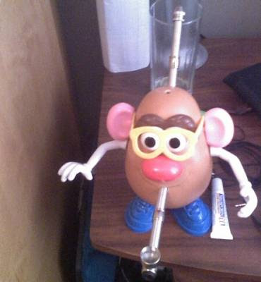 Potato Head Bong