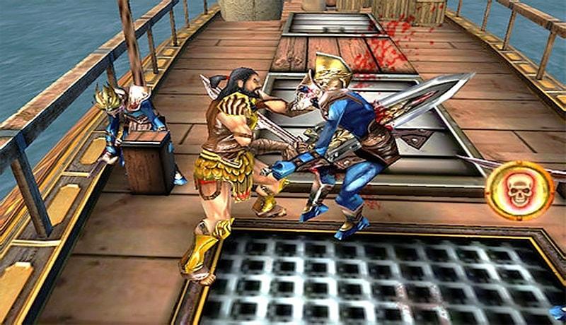 تحميل لعبة hero of sparta للاندرويد من مديا فاير