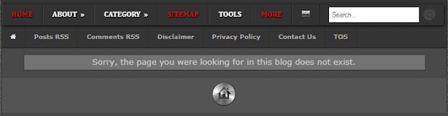 Membuat Halaman Error 404 Not Found di Blog - Tutorial Blogger