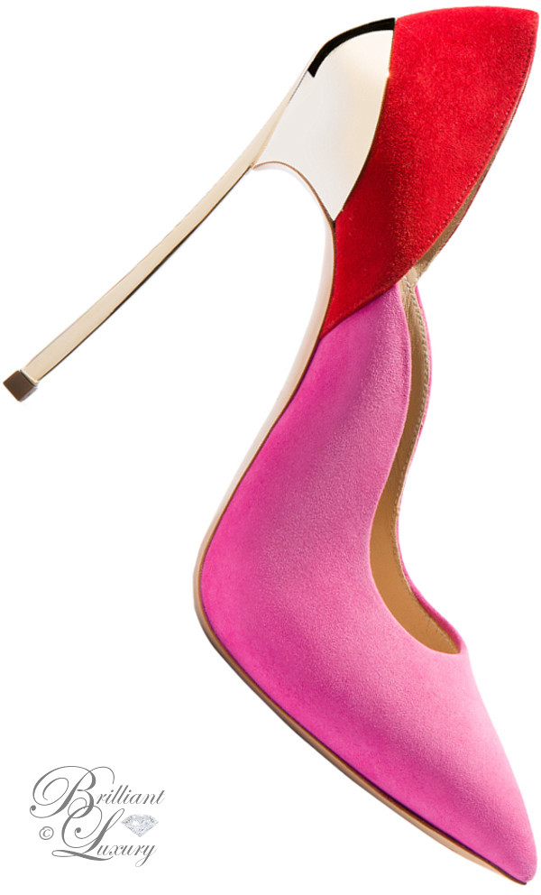 Brilliant Luxury ♦ Casadei Blade techno pumps