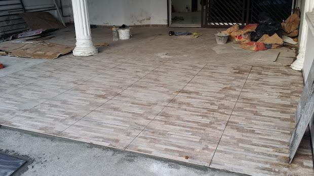 Corak Tiles Porch Kereta Tile Design Ideas