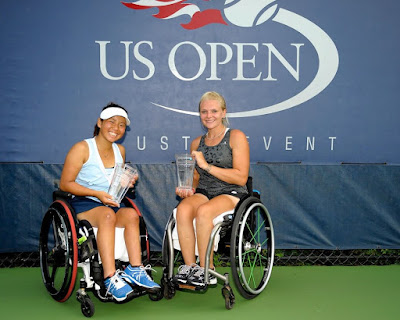 US Open 2016 Wheel chair Tennis