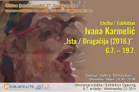 Ivana Karmelić, izložba Ista / Drugačija, Bol slike otok Brač Online