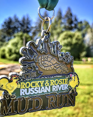 Russian River Mud Run Medal